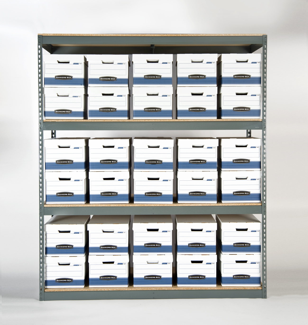 RiveTier II Record Archive Shelving