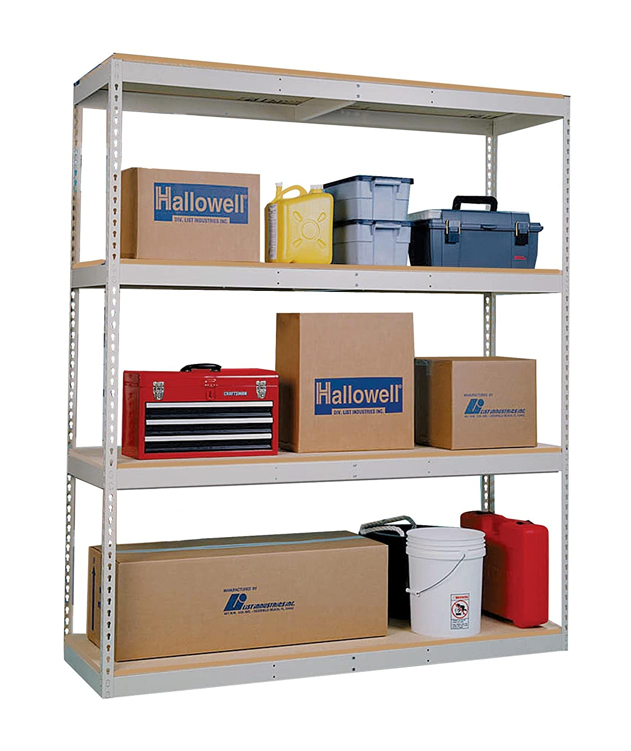 Rivetwell Shelving With Double Rivet Beam