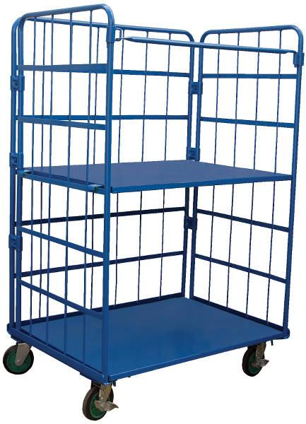 Vestil Foldable Nestable Roller Container Model No. ROL-3143-2