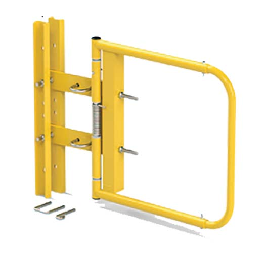 Stromberg Yellow Swing Gates