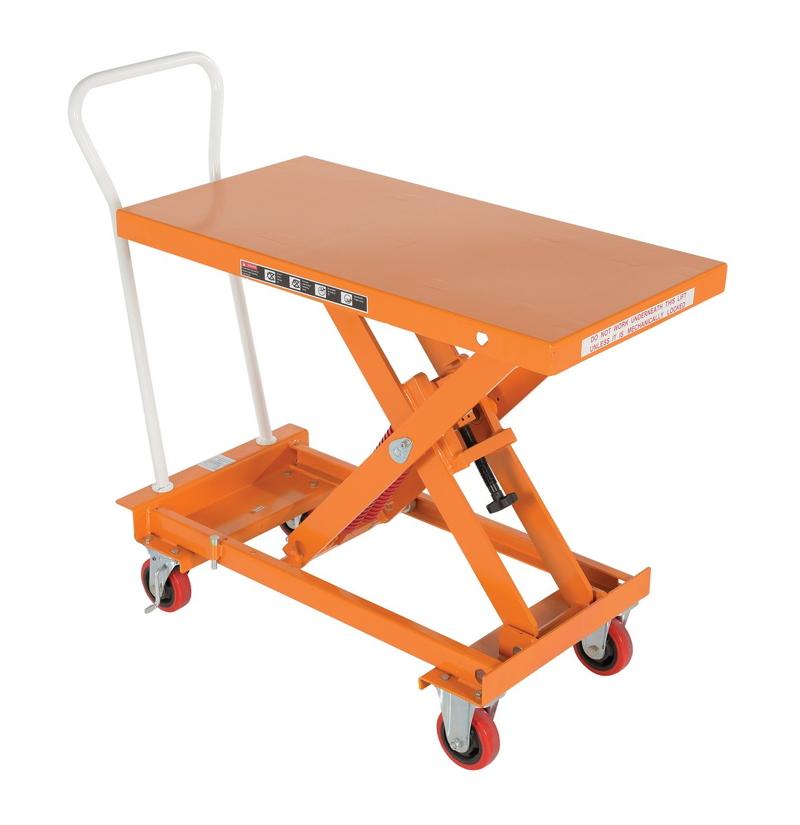 Vestil SCSC-800-2040 Self-Elevating Lift Cart