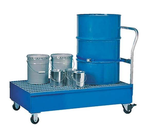Vestil SRBC-2 Steel Retention Basin Carts