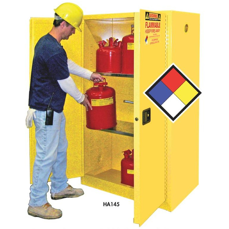 Securall Flammable Safety Cabinets