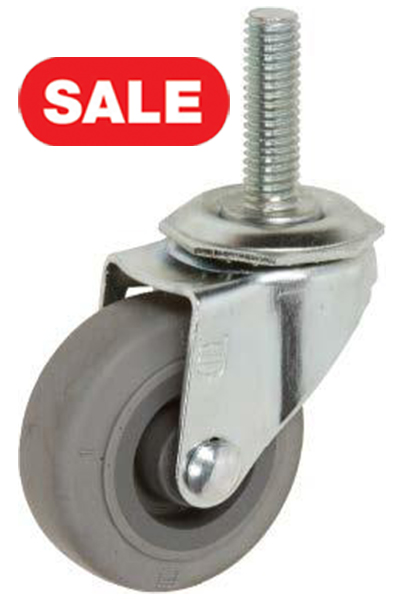 Stromberg STP3000 Light Duty Institutional Stem Casters - 2 Inch