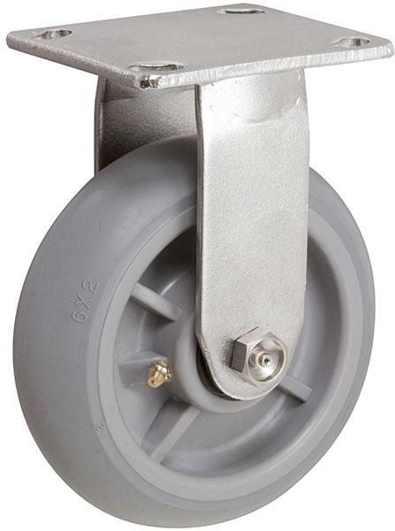 Stromberg STP6700 Series Medium-Heavy Duty Stainless Steel Rigid Caster