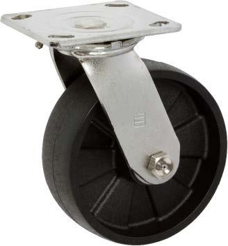 Stromberg STP6700 Series Medium-Heavy Duty Stainless Steel Swivel Caster