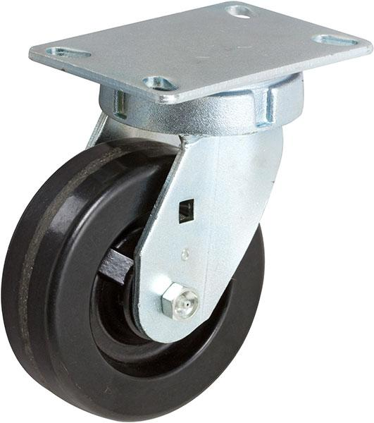 Stromberg STP6800 KPL Medium Heavy Kingpinless Rigid Caster (Swivel caster shown. Actual caster is rigid.)