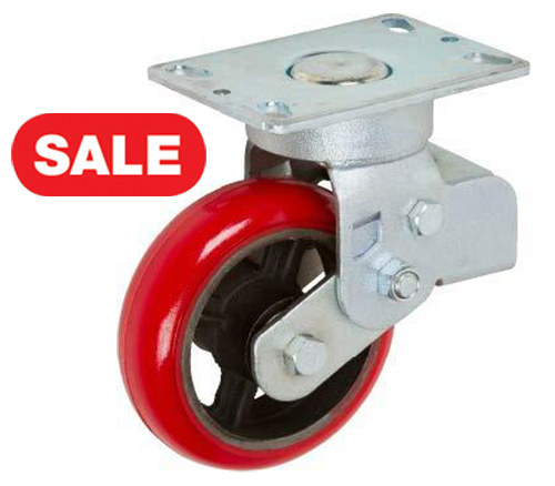 Stromberg STP6805 Maintenance Free Caster (Swivel caster shown, but the actual caster is Rigid)