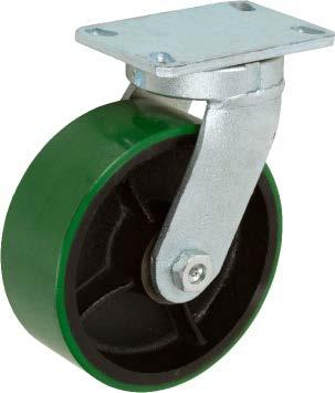 Stromberg STP7200 KPL Series Heavy Duty Kingpinless Swivel Caster