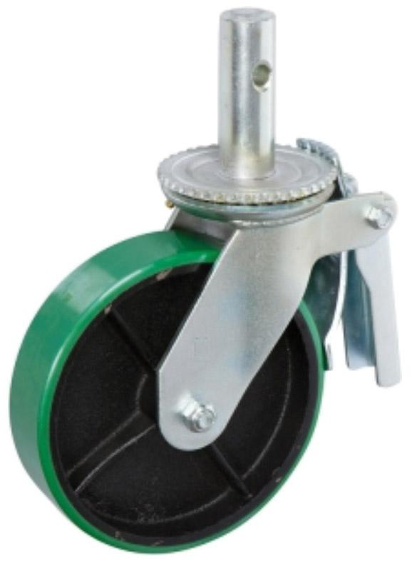 STP8980-31-RCI Scaffold Caster: Polyurethane on Cast Iron