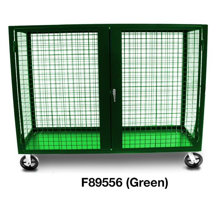 F89556 Security Trucks Green