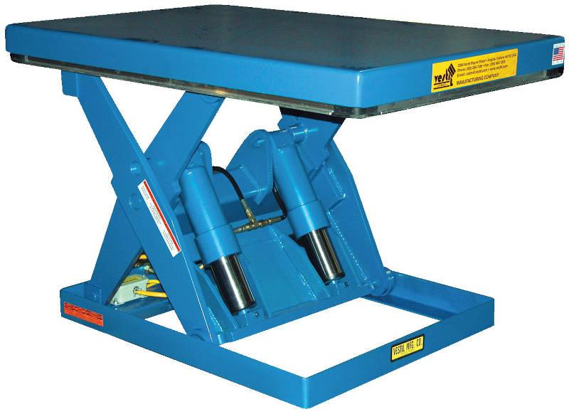 Vestil Shorty Scissor Lift Table
