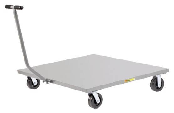 Little Giant Solid Deck Pallet Dolly with T Handle Model No. PDST-4048-6PH