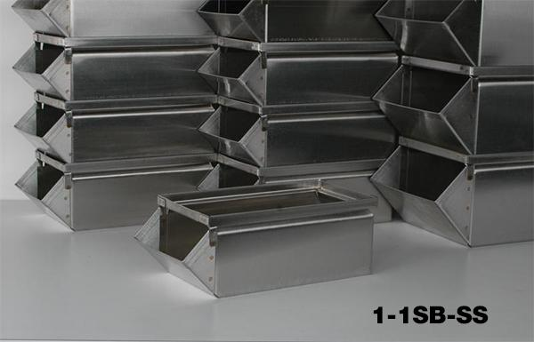 Stainless Steel Stackbins Model 1-1SB-SS
