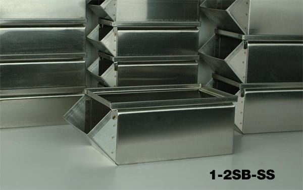 Stainless Steel Stackbins Model 1-2SB-SS