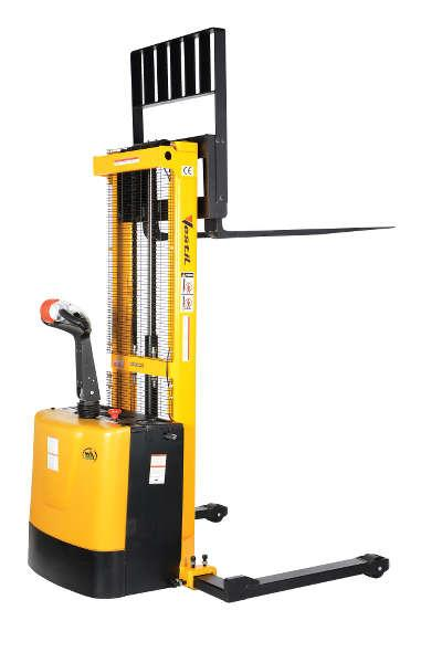 Vestil Stacker with Powered Drive and Powered Lift Model No. S-62-AA
