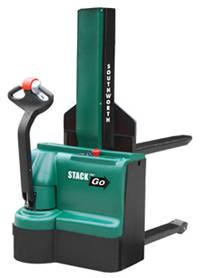 Southworth Stack-n-Go Powered Stacker - Fork-Over