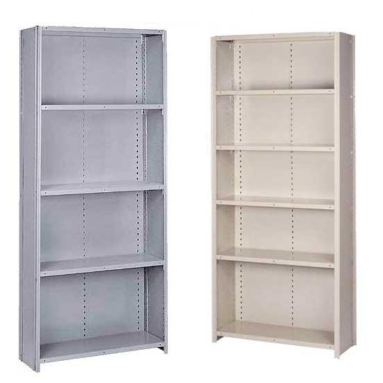Lyon Stand Alone Offset Angle Closed Shelving