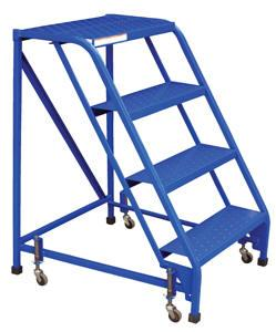 Vestil Standard Slope Ladders - No Handrails - Model No. LAD-PW-26-4-P-NHR