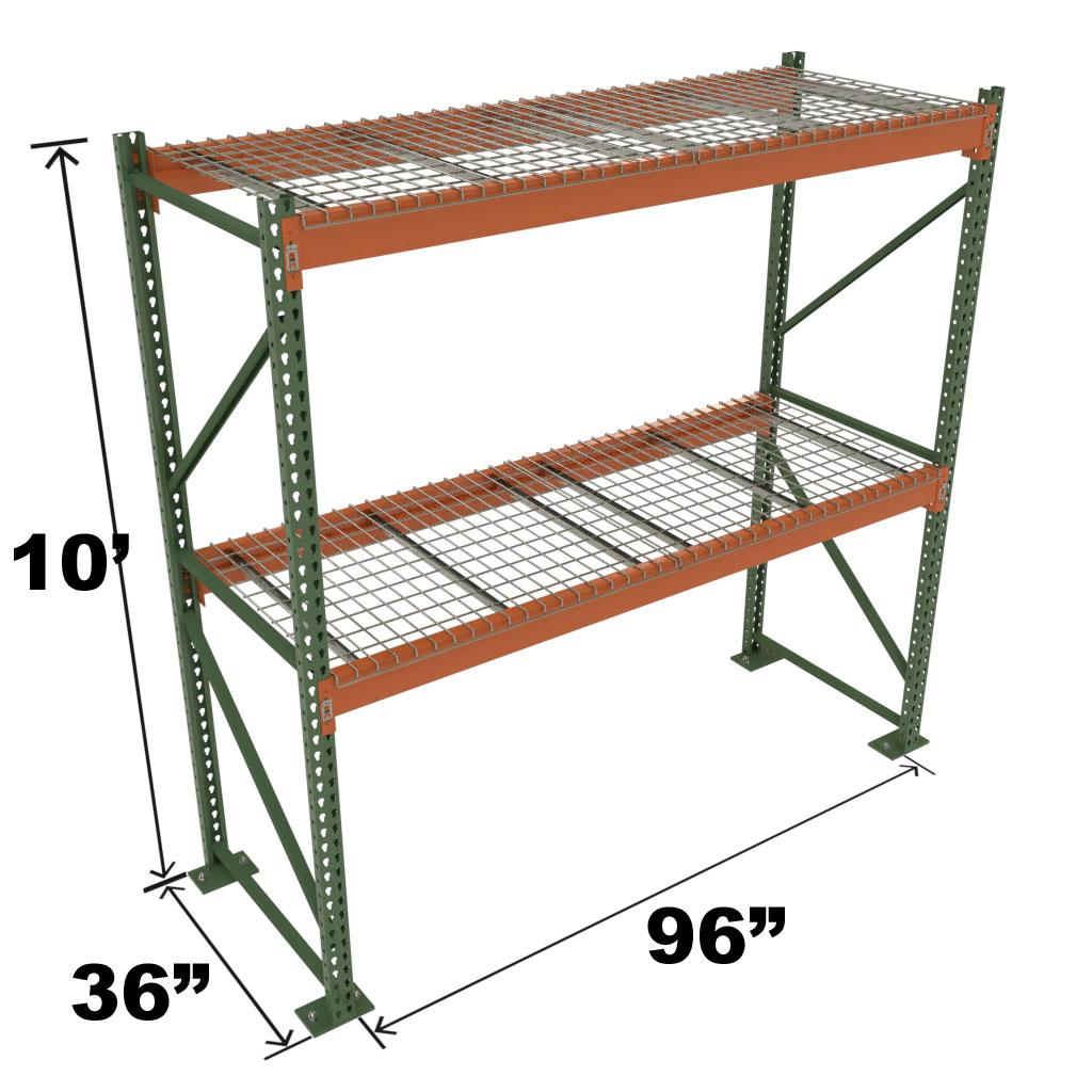 Stromberg Teardrop Storage Rack - 96 in x 36 in x 10 ft