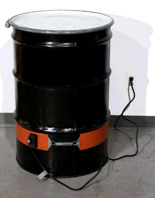 Steel Drum Heater