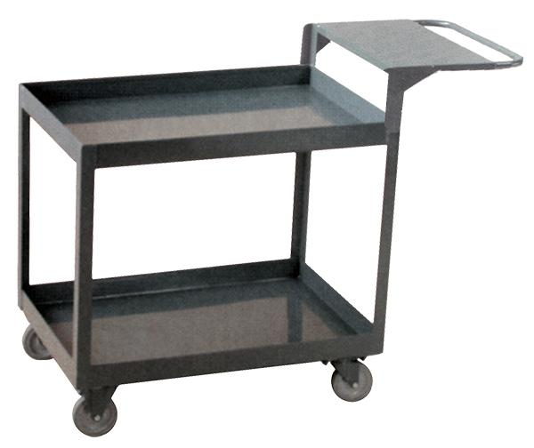 Stromberg Steel Service Cart with Writing Shelf