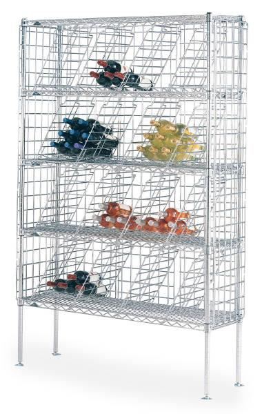 Metro Super Erecta Bulk Storage Wine Shelving Model No. WB257C