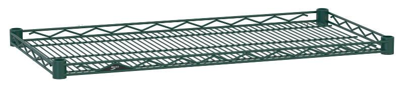Metro Super Erecta Drop Mat Designer Color Shelving - Hunter Green