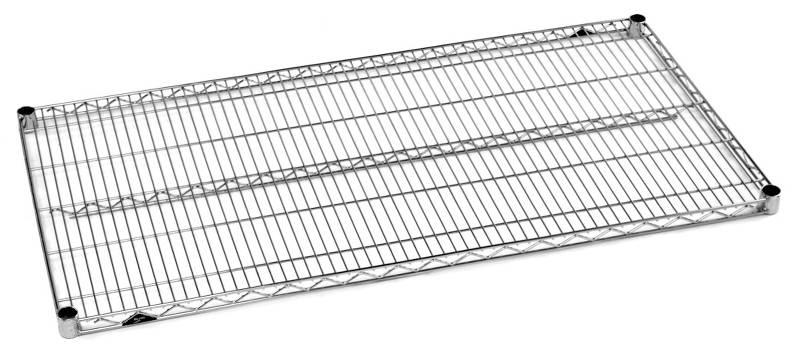Metro Super Erecta Wire Shelves - Chrome Finish