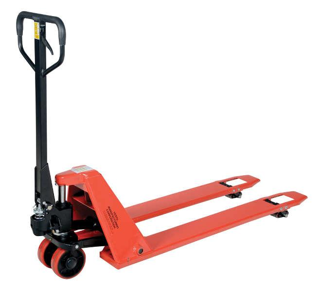 Vestil Super Low Profile Pallet Truck Model No. PM2-2044-SLP