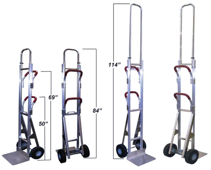 Telescoping Bin Delivery Hand Truck