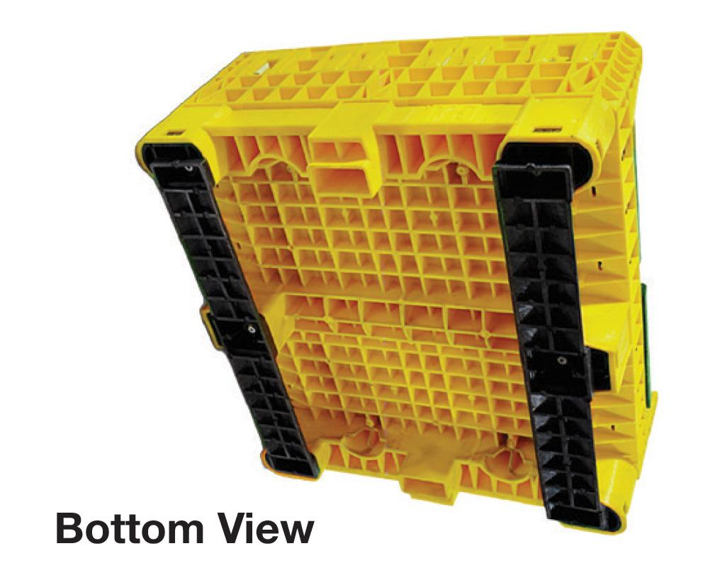 Triple Diamond Collapsible Bulk Storage Containers