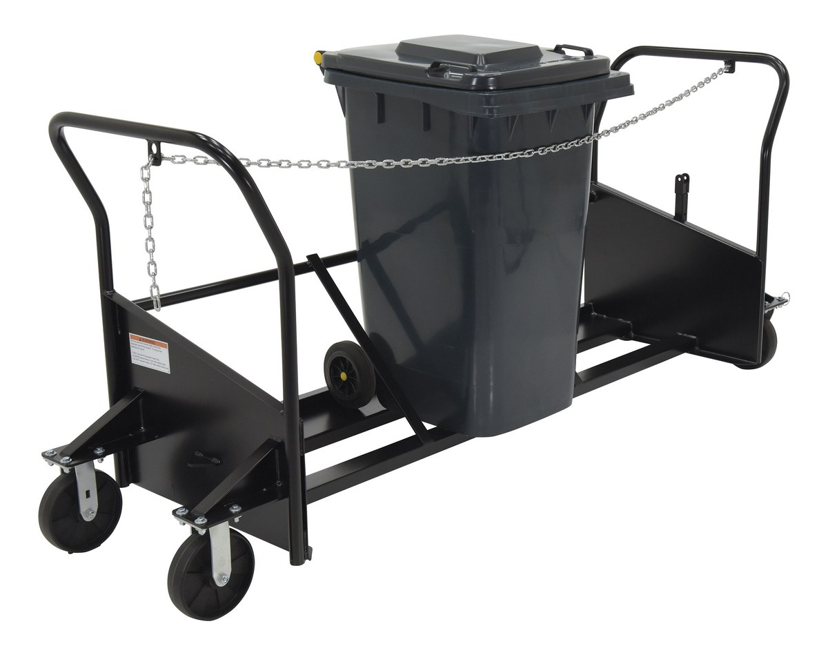 Vestil TH-CART-64 Trash Can Carts