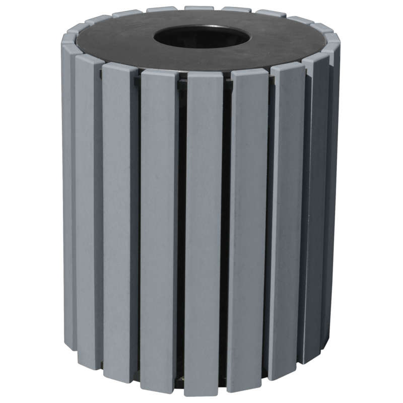 Vestil Trash Receptacles - 33 Gallon