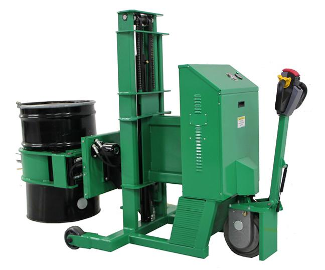 Telescopic Power Drive Roto-Grip II Drum Handler