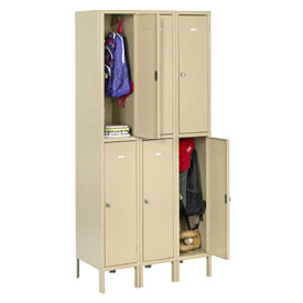 WELDED HEAVY-DUTY DOUBLE TIER LOCKERS