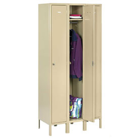 WELDED HEAVY-DUTY SINGLE TIER LOCKERS
