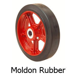 Moldon Rubber wheel