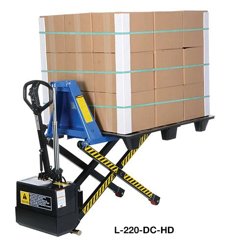 Vestil Tote Lifter Model No. L-220-DC-HD