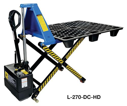 Vestil Tote Lifter Model No. L-270-DC-HD
