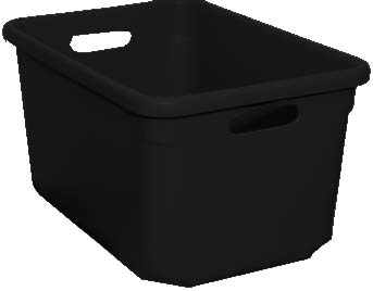 Stromberg Tote-All Standard Tote Boxes - Black