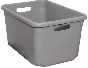 Tote-All Standard Tote Boxes - Gray