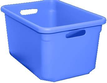 Tote-All Standard Tote Boxes - Royal Blue