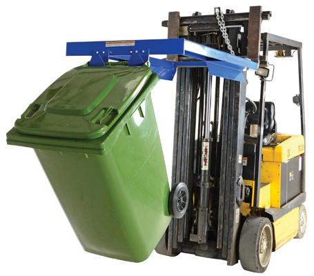 Vestil Trash Can Dumper Model No. TCD-FM-E