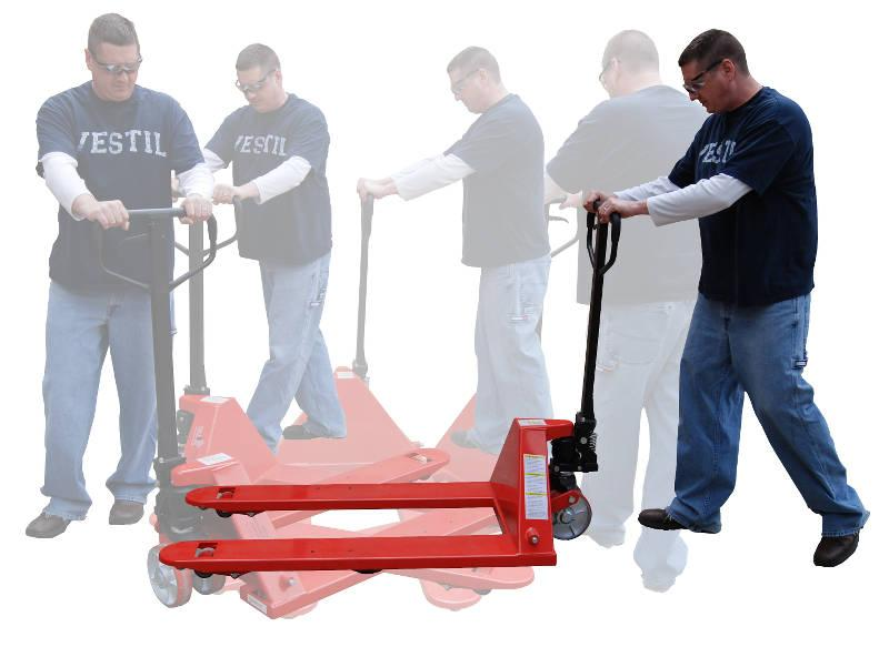 Vestil Turnabout Pallet Truck Model No. PM5-2748-TURN