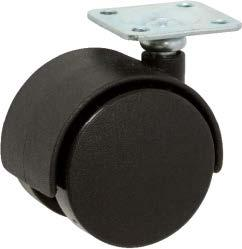 Stromberg Twin Wheel Furniture Casters