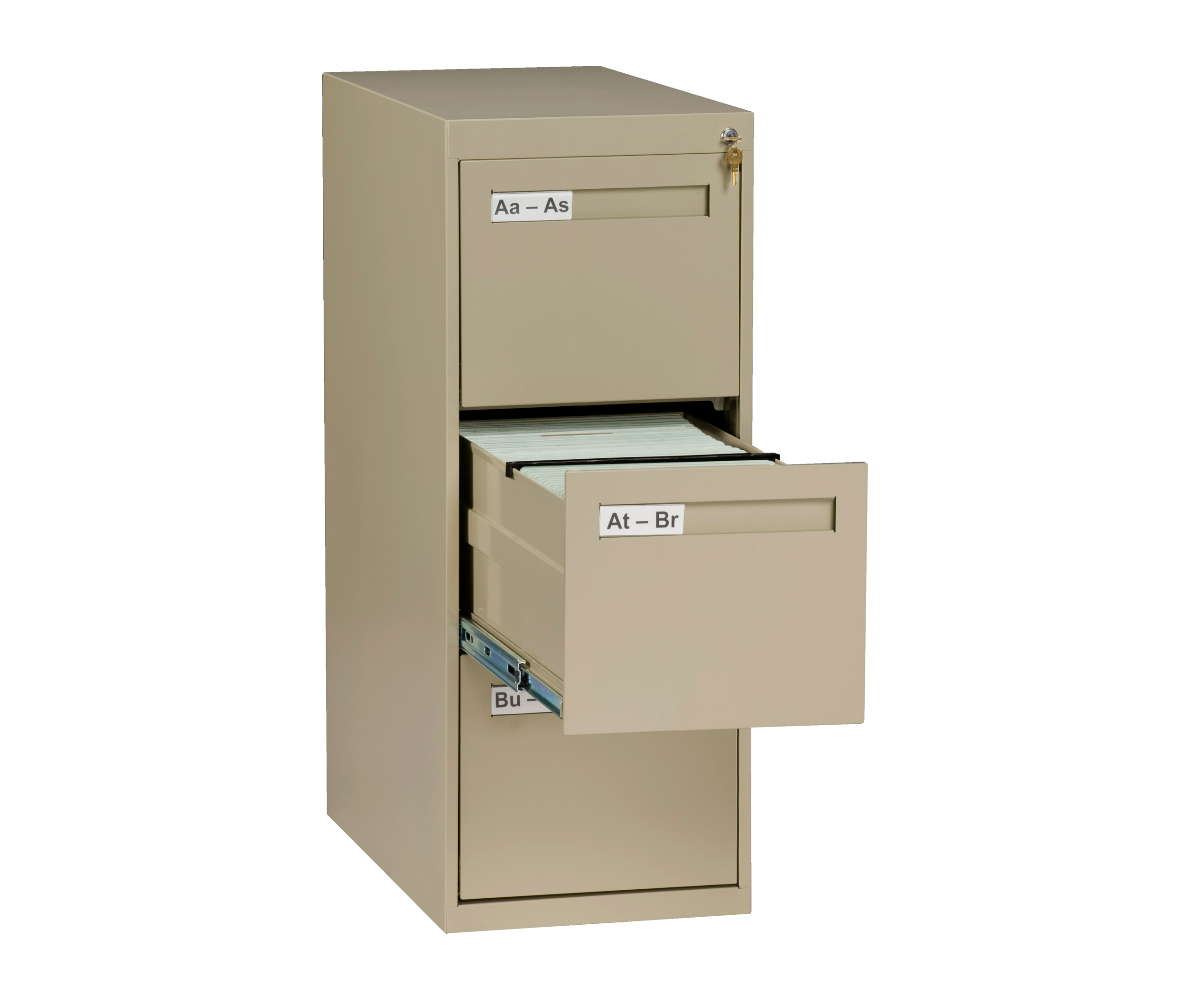 Vertical File Letter Size 3 Drawer