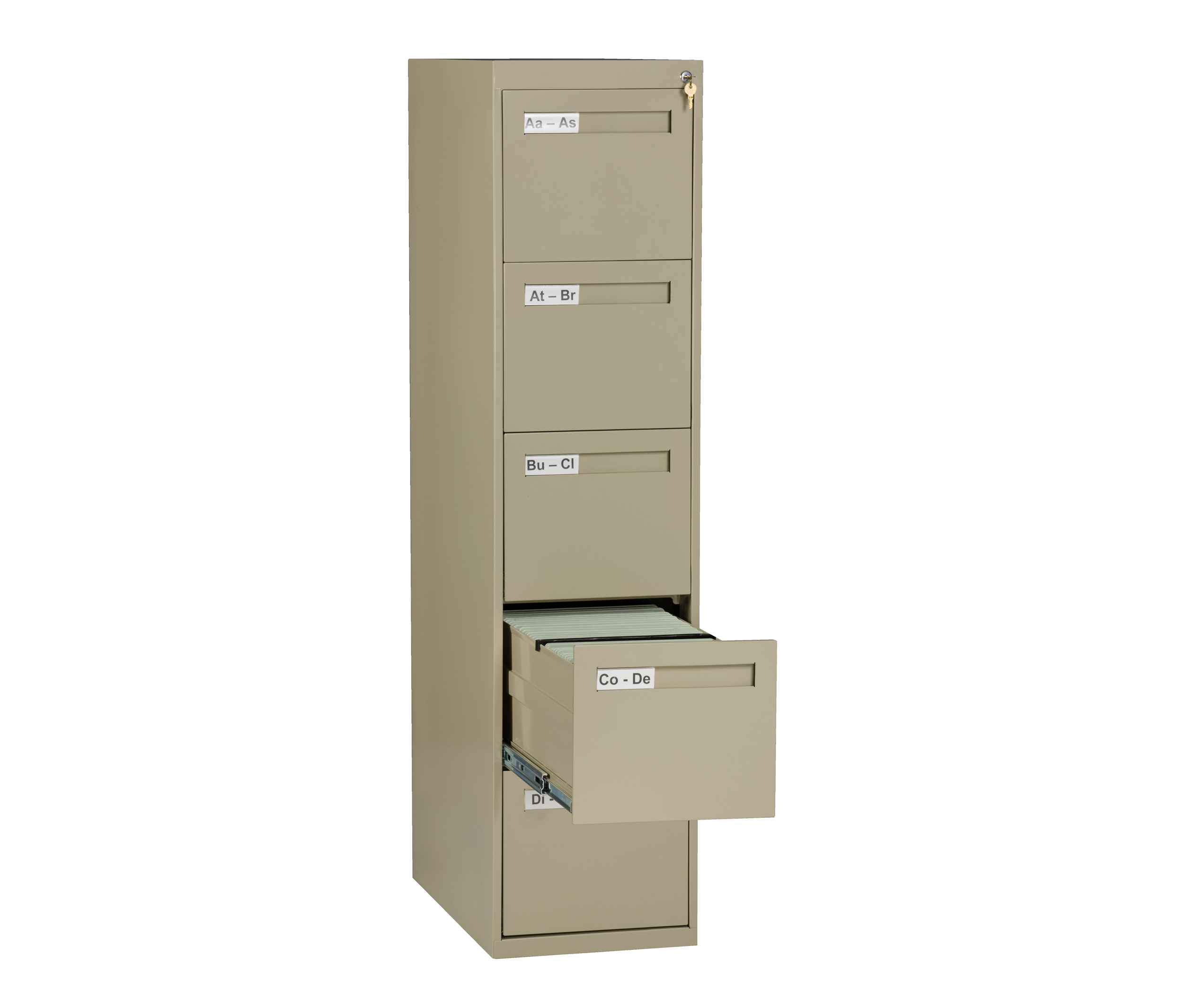 Tennsco V285-MF Vertical File 5 Drawer
