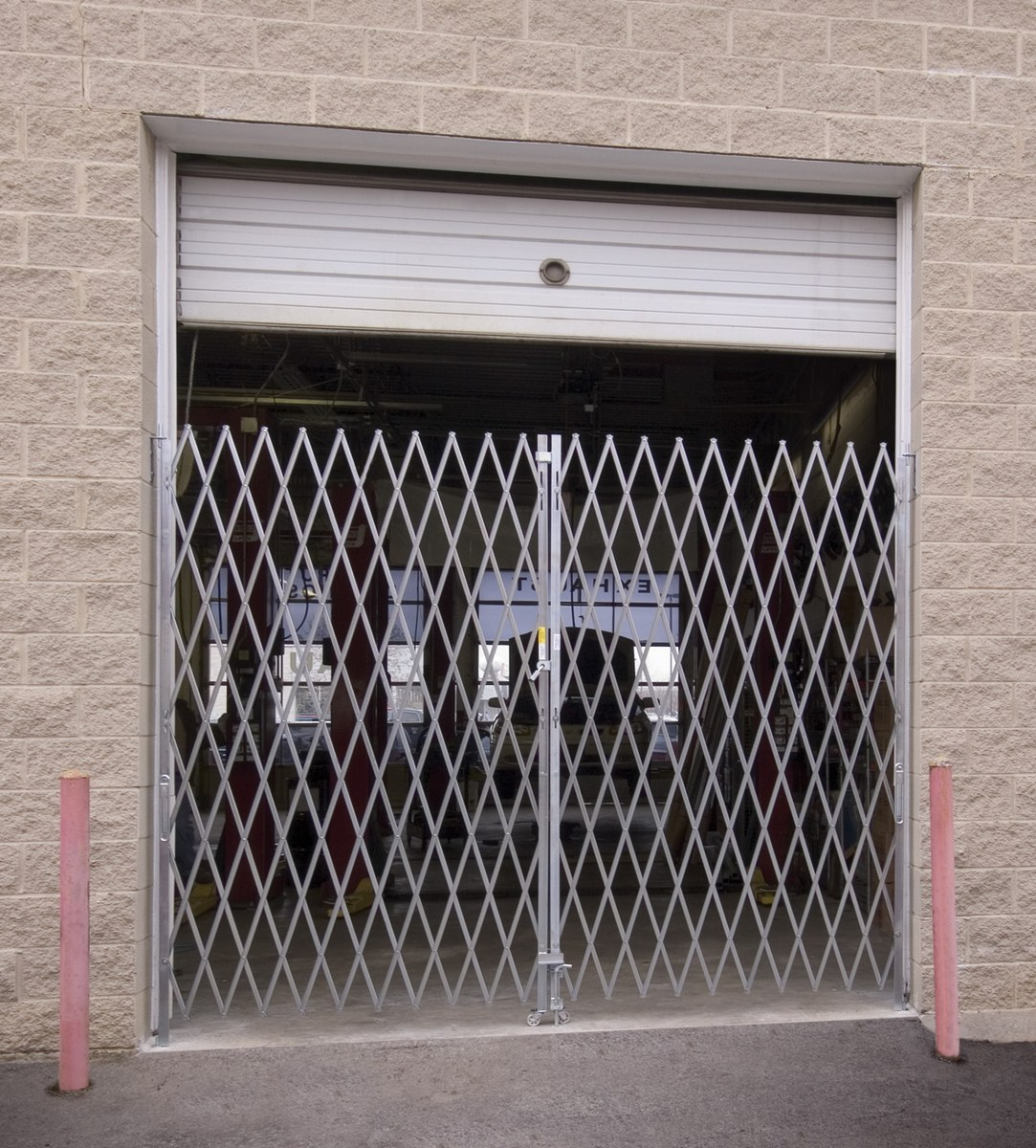 VPFG-865 Gavlanized Folding Gates - Double Fold