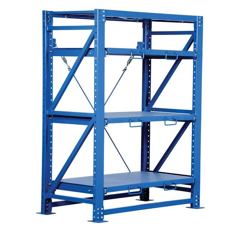 Vestil VRSOR-54 Heavy Duty Roll Out Shelving